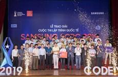 10 sinh viên Việt xuất sắc sang Hàn Quốc thi lập trình quốc tế Samsung