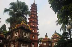 [Photo] Nét đẹp xưa cũ bên trong ngôi chùa cổ nhất Hà thành