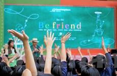 Học sinh Hà Nội lan tỏa thông điệp chống nạn bạo lực học đường