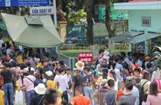 [Photo] Người dân đổ xô đến công viên Thủ Lệ dịp 2/9