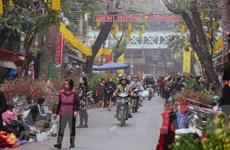 [Video] Rực rỡ sắc màu chợ hoa truyền thống trên phố cổ Hà thành