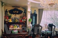 [Photo] Lễ cúng tất niên của một gia đình Hà Nội