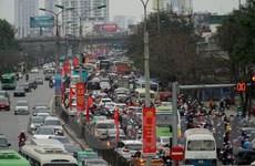 [Photo] Cửa ngõ Thủ đô tắc nghẽn khi người dân đổ về Hà Nội sau Tết