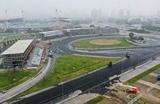 [Photo] Cận cảnh đường đua F1 Hà Nội tăng tốc hoàn thiện