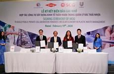 Việt Nam lần đầu hợp tác công tư về kinh tế tuần hoàn quản lý rác thải