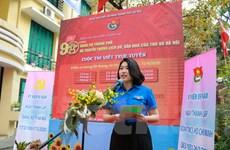 Phát động cuộc thi 'Tìm hiểu lịch sử 90 năm Đảng bộ thành phố Hà Nội'
