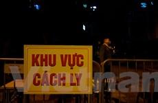 Cận cảnh khu vực có người nhiễm COVID-19 ở Hà Nội