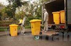 Dịch COVID-19: Rác thải từ các khu cách ly được xử lý như thế nào?