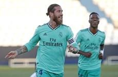 Trung vệ Sergio Ramos chạm mốc đáng nhớ trong sự nghiệp