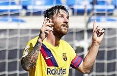 Lionel Messi giành danh hiệu Pichichi, đi vào lịch sử La Liga