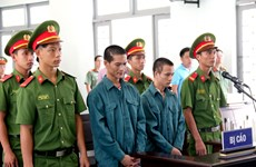 Phạt 28 năm tù đối với các đối tượng hủy hoại tài sản tại Bình Thuận