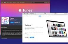 Apple xóa kênh của Itunes trên các mạng xã hội Facebook, Instagram