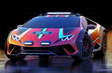 """Lamborghini giới thiệu """"chiến mã"""" chạy địa hình Huracan Sterrato"""
