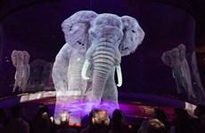 Gánh xiếc đầu tiên sử dụng hình chiếu 3D thay cho động vật thật