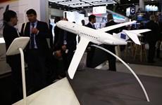 Hình ảnh những màn bay trình diễn tại triển lãm hàng không ở Bourget