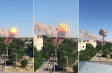 Kazakhstan sơ tán hàng chục nghìn người sau loạt vụ nổ kho đạn dược