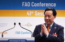 Ông Khuất Đông Ngọc được bầu làm Tổng giám đốc FAO nhiệm kỳ 2019-2023