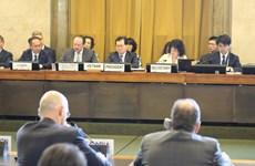 Việt Nam thúc đẩy thảo luận thực chất tại Hội nghị Giải trừ quân bị