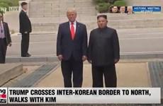 Tổng thống Donald Trump mời nhà lãnh đạo Triều Tiên thăm Mỹ