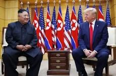 Tổng thống Mỹ kết thúc cuộc họp kín với nhà lãnh đạo Triều Tiên