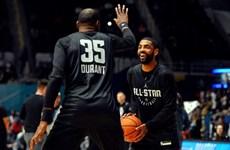 """Kyrie Irving, Kevin Durant lập """"đế chế"""" mới tại Brooklyn Nets"""