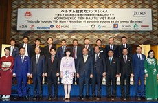 Hình ảnh Thủ tướng tại Hội nghị Xúc tiến đầu tư Việt-Nhật