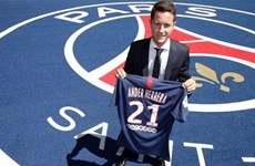 Ander Herrera chính thức gia nhập Paris Saint-Germain