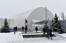 """Ukraine khánh thành """"Quan tài thép"""" chôn nhà máy hạt nhân Chernobyl"""