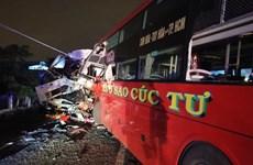 Tai nạn giao thông nghiêm trọng tại Bình Thuận, 2 người thiệt mạng