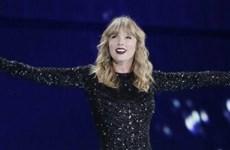 Taylor Swift đứng đầu danh sách nghệ sỹ có thu nhập cao nhất