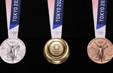 Huy chương của Olympic Tokyo 2020 được làm từ đồ điện tử tái chế