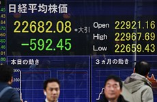 Chứng khoán châu Á đồng loạt giảm điểm do những lo ngại từ Fed