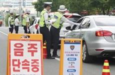 Hàn Quốc giảm tai nạn giao thông nhờ siết chặt quy định về nồng độ cồn