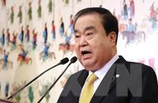 Chủ tịch Quốc hội Hàn Quốc ủng hộ giải pháp ngoại giao với Nhật Bản