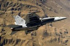 Máy bay chiến đấu Hải quân Mỹ rơi tại công viên quốc gia