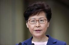 Lãnh đạo Hong Kong cảnh báo tình hình biểu tình đang rất nghiêm trọng