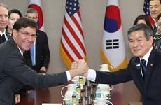 Hàn Quốc, Mỹ tuyên bố tiếp tục tập trận dù Triều Tiên phản đối