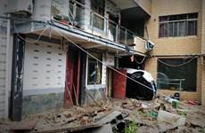 Hình ảnh kinh hoàng khi bão Lekima càn quét tại Trung Quốc