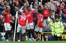 Tân binh tỏa sáng, Manchester United vùi dập Chelsea của Lampard