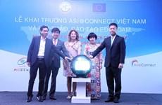 Khai trương dự án mạng thông tin Asi@Connect tại Việt Nam