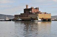 Nga hạ thủy lò phản ứng hạt nhân nổi đầu tiên ở Bắc Cực