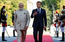 Ấn Độ, Pháp thúc đẩy tự do hàng hải ở Ấn Độ Dương-Thái Bình Dương