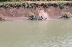 Tây Ninh: Chiến sỹ công an hy sinh khi tìm người mất tích dưới kênh