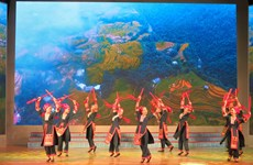 Lào Cai hòa nhịp cùng Đêm văn hóa dân gian Việt Nam-Israel