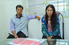 Lào Cai: Bắt giữ 2 đối tượng buôn bán hàng nghìn viên ma túy tổng hợp