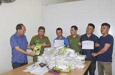 Điện Biên bắt giữ 3 đối tượng vận chuyển trái phép 50kg ma túy đá