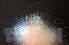 Lào Cai: Bắn pháo hoa chào mừng Quốc khánh tại khu du lịch Sa Pa