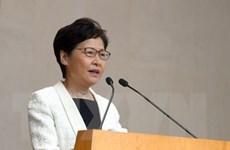 Lãnh đạo Hong Kong hy vọng sớm giải quyết tình hình khủng hoảng