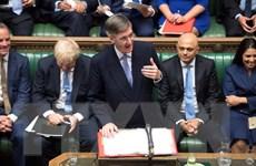 Quốc hội Anh ấn định thời điểm bỏ phiếu về việc tổng tuyển cử sớm