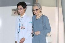 Cựu Hoàng hậu Nhật Bản trải qua ca phẫu thuật ung thư